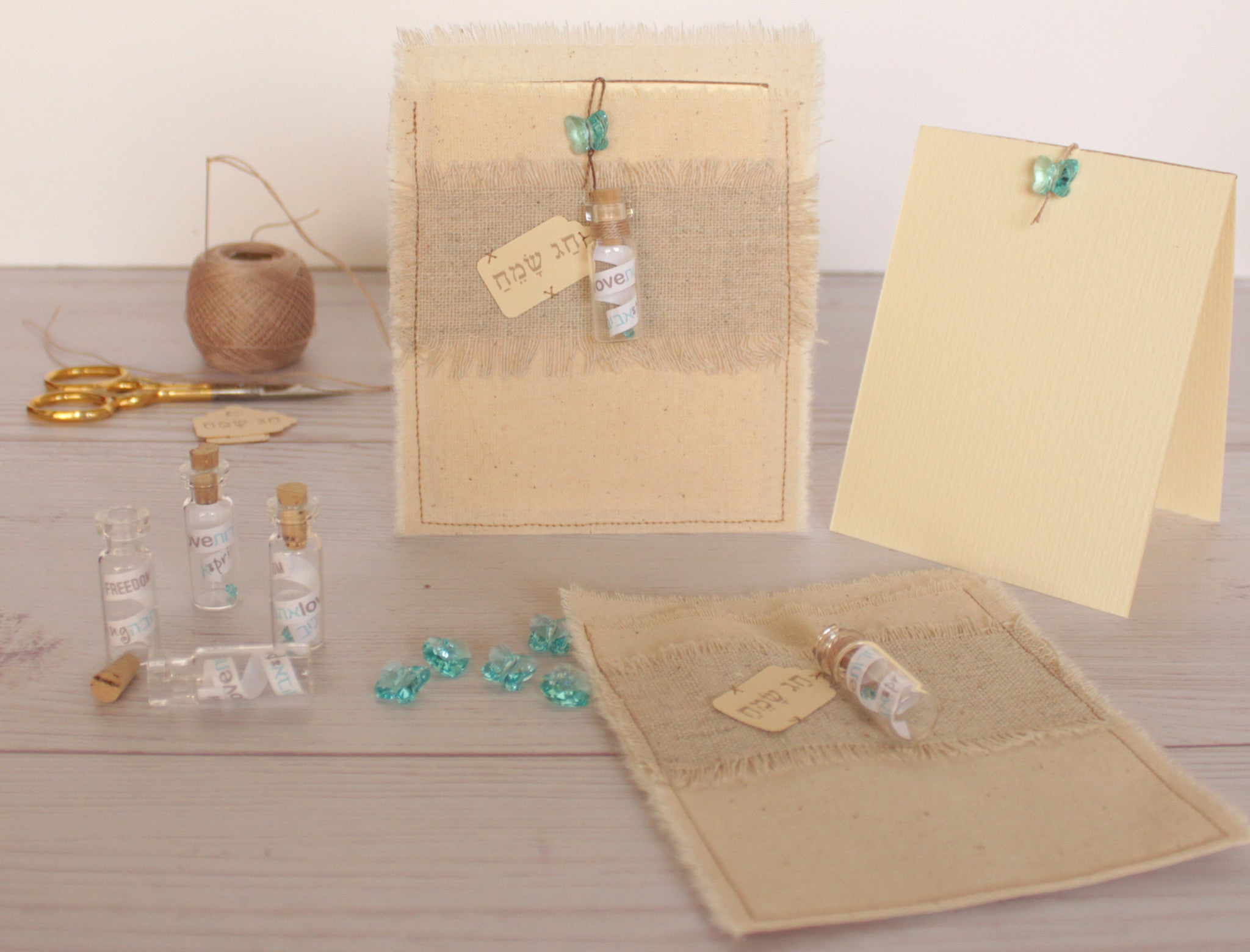 Passover Greeting Card Happy Passover In Cotton Envelope With