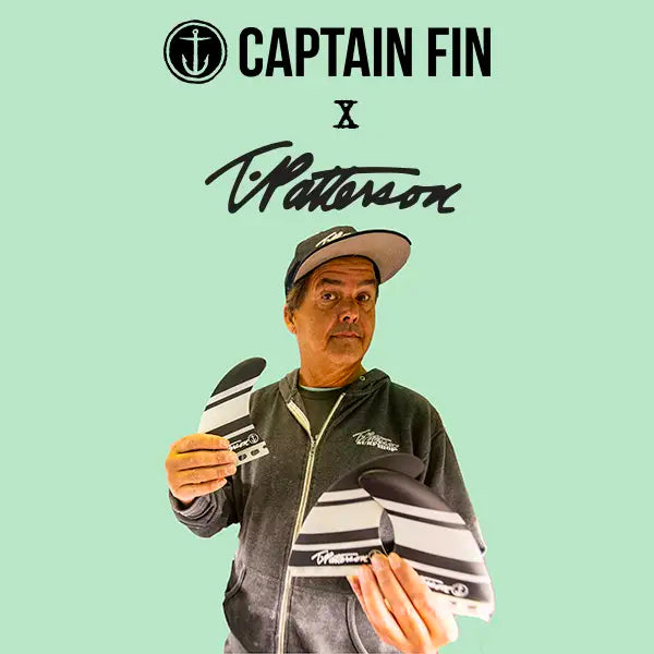 """Super Close to the Original, Super Psyched On That"" - Timmy Patterson for Captain Fin Co"