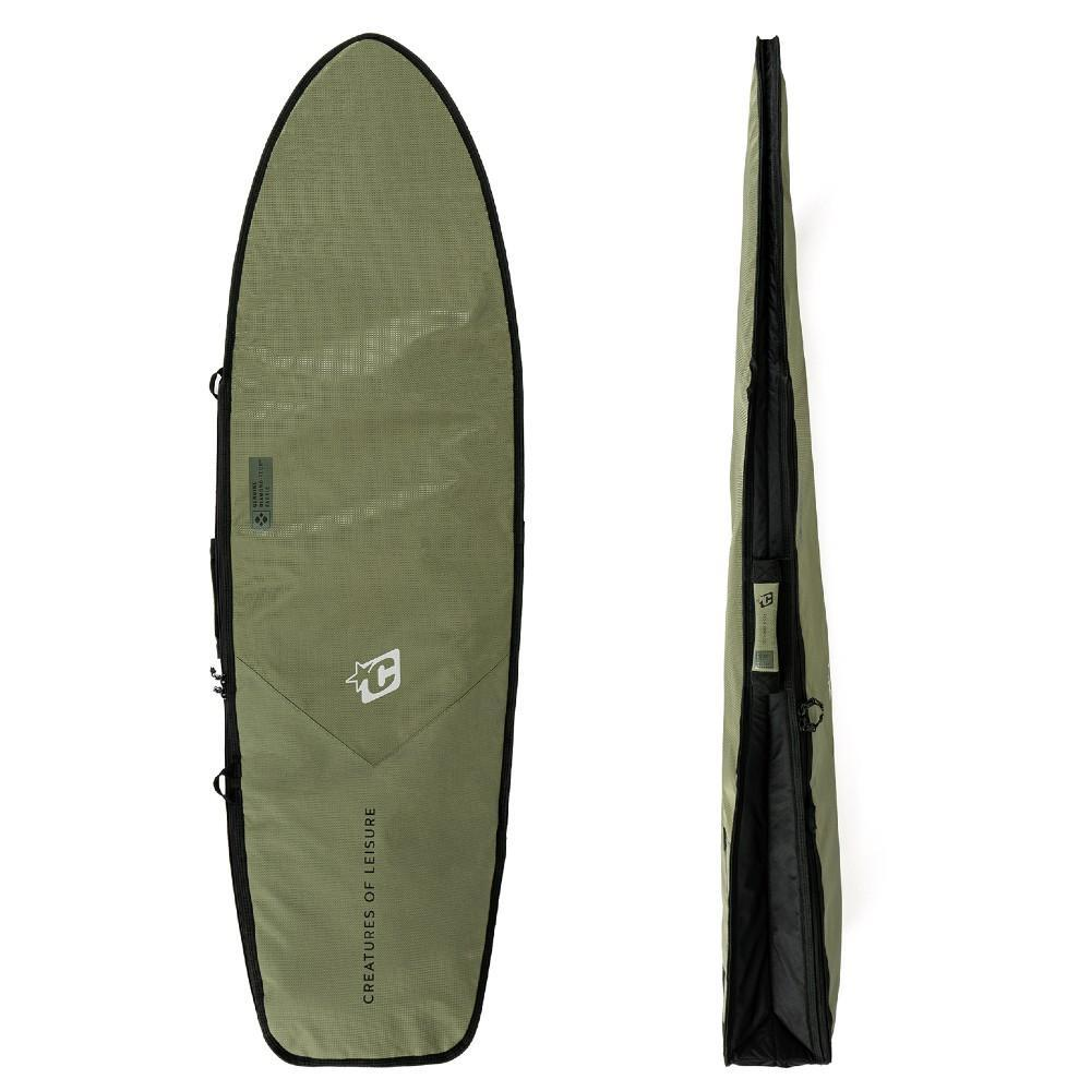 Creatures Of Leisure Fish Day Use DT2.0 Boardcover Military Black Boardbags Creatures Of Leisure 5'10""