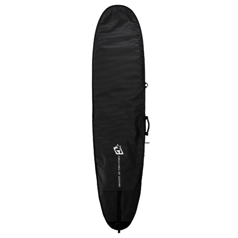 Creatures of Leisure Longboard Day Use DT2.0 Black Silver Boardbags Creatures of Leisure 9'6""