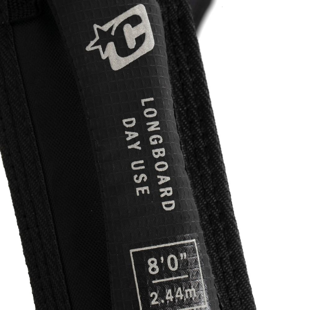 Creatures of Leisure Longboard Day Use DT2.0 Black Silver Boardbags Creatures of Leisure