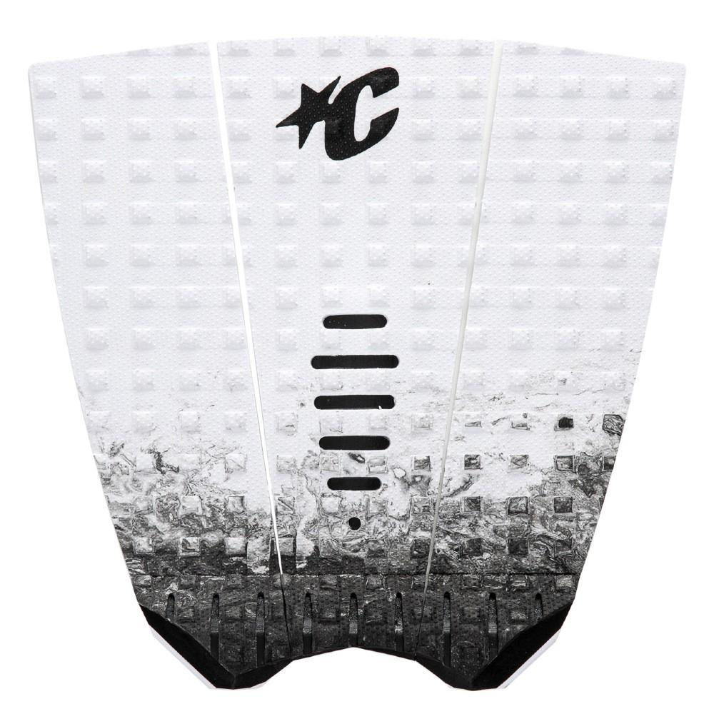 Creatures Of Leisure Mick Fanning Lite Tail Pad Tailpads Creatures Of Leisure White Fade Black