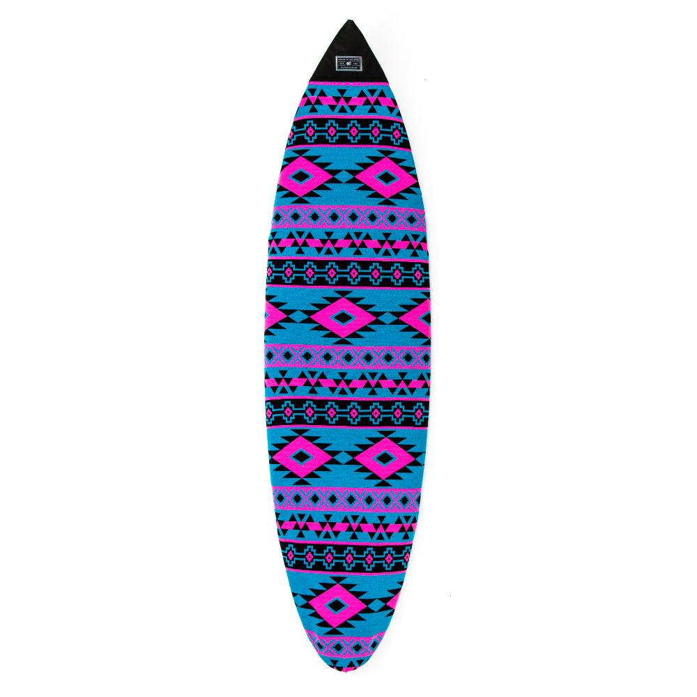 Creatures of Leisure Shortboard Aztec Sox Boardbags Creatures of Leisure Cyan Magenta 5'8