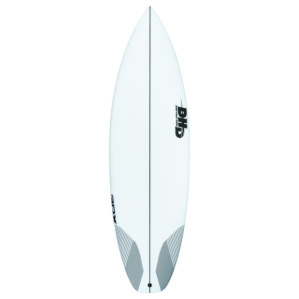 "DHD 3DX Surfboards DHD 5'6"" x 18 5/8"" x 2 1/4"" 25L FCSII"
