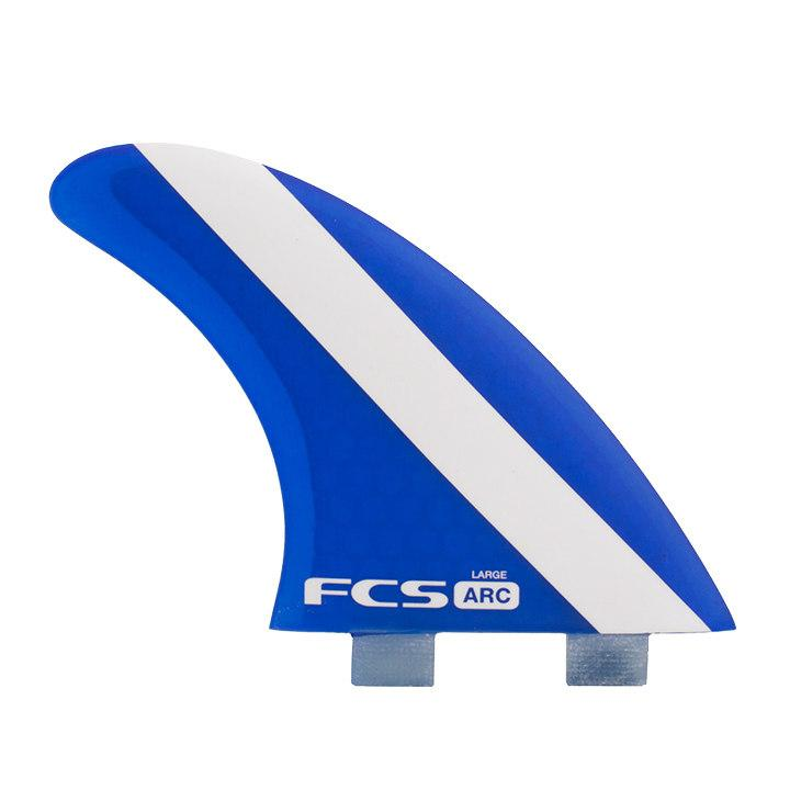 FCS 1 ARC PC Large Tri Fin Set Fins FCS