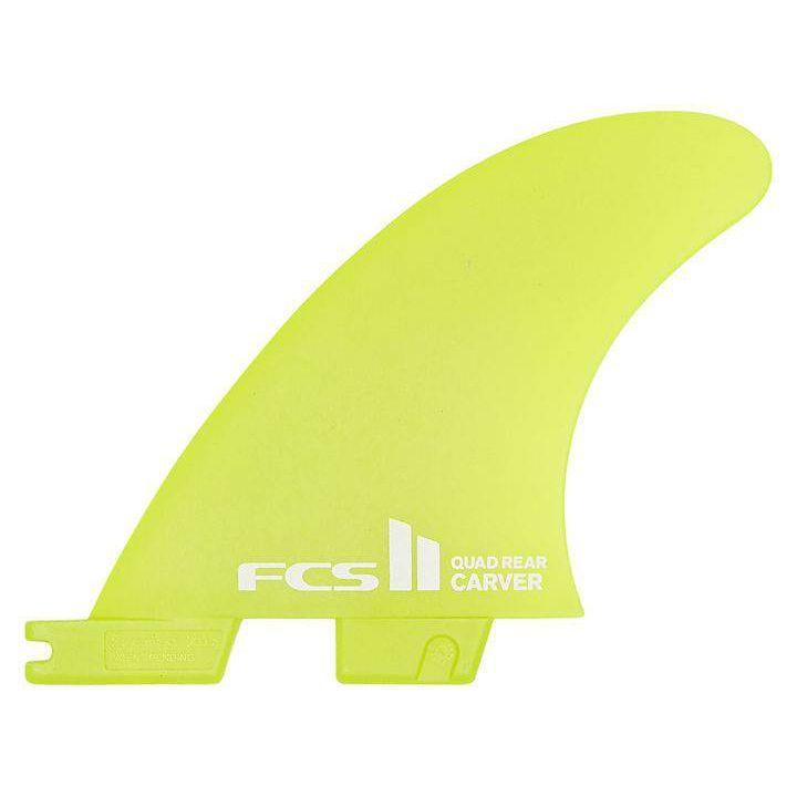 FCS II Carver Neo Glass Small Quad Rear Side Byte Fins Fins FCS