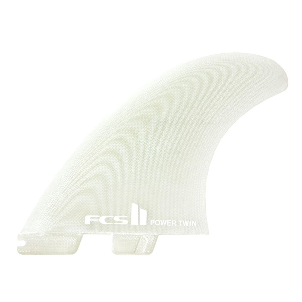FCS II Power Twin+1 PG Fins Fins FCS Clear