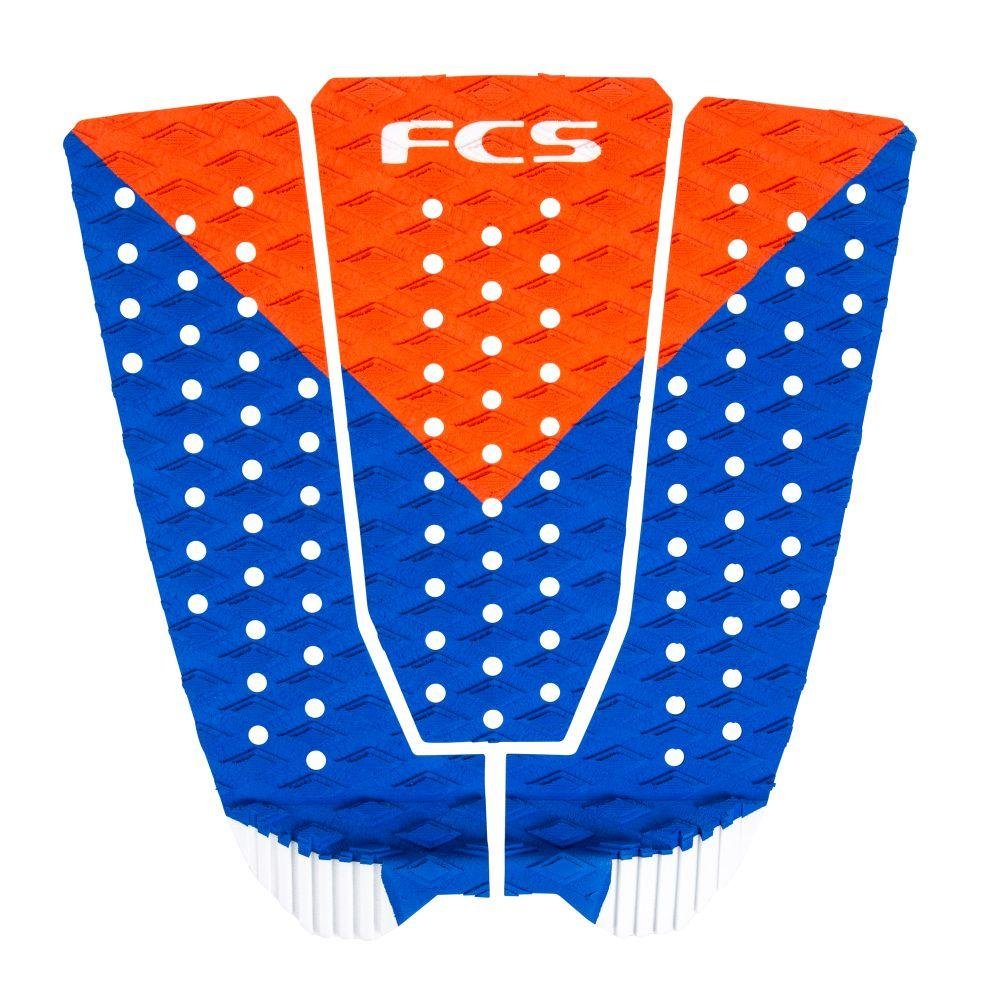 FCS - Kolohe - 3 Piece Tail Pad Tailpads FCS Red White n Blue