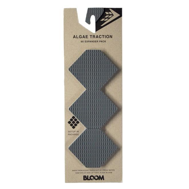 Firewire 9X Expander Pack Surfboard Tailpads Slater Designs Grey/Black
