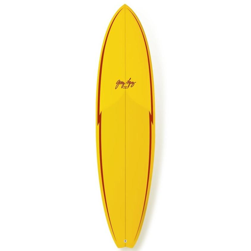 "Gerry Lopez Little Darlin Surfboards Gerry Lopez 6'8"" x 20.375"" x 2.688"" 39.9L FCSII"