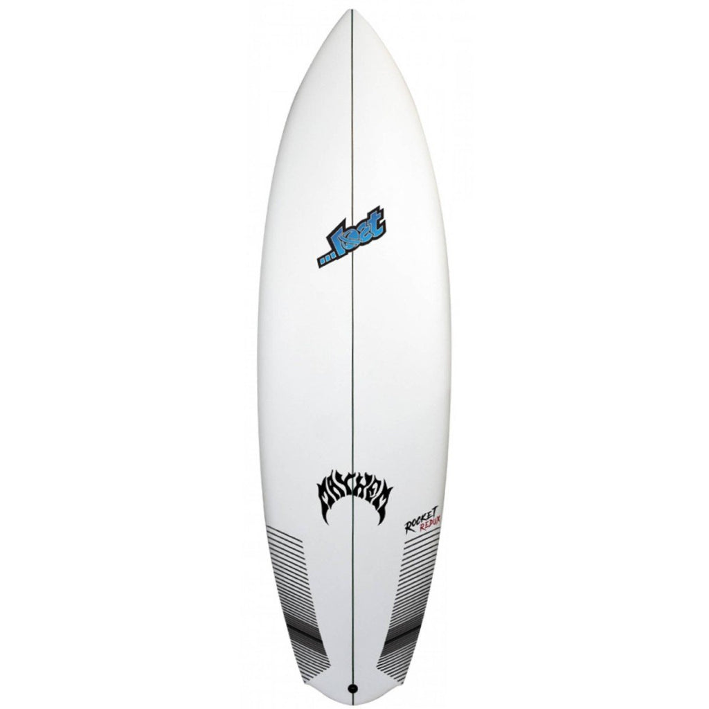 "Lost Rocket Redux Surfboards Lost Surfboards 5'5"" x 18 3/4"" x 2 5/16"" 25.7L FCSII"