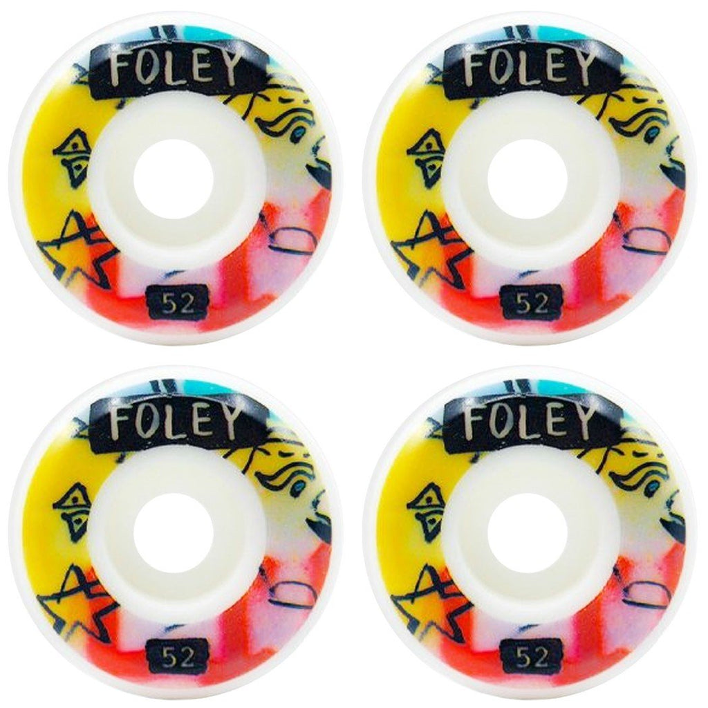 Picture Wheel Co - Marty Baptist/Casey Foley 52mm Skateboard Hardware Picture Wheel Co
