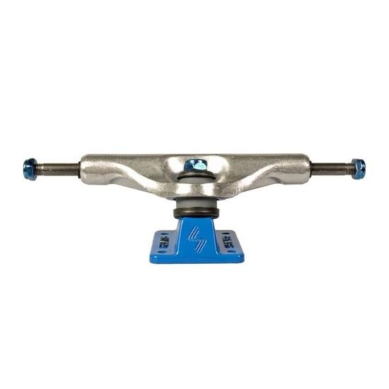 Silver Skateboard Trucks 8.5 M-class polish Blue Skateboard Hardware Silver Trucks