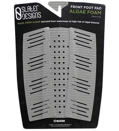 Slater Designs Front Foot Traction Pad Surfboard Tailpads Slater Designs Grey/Black
