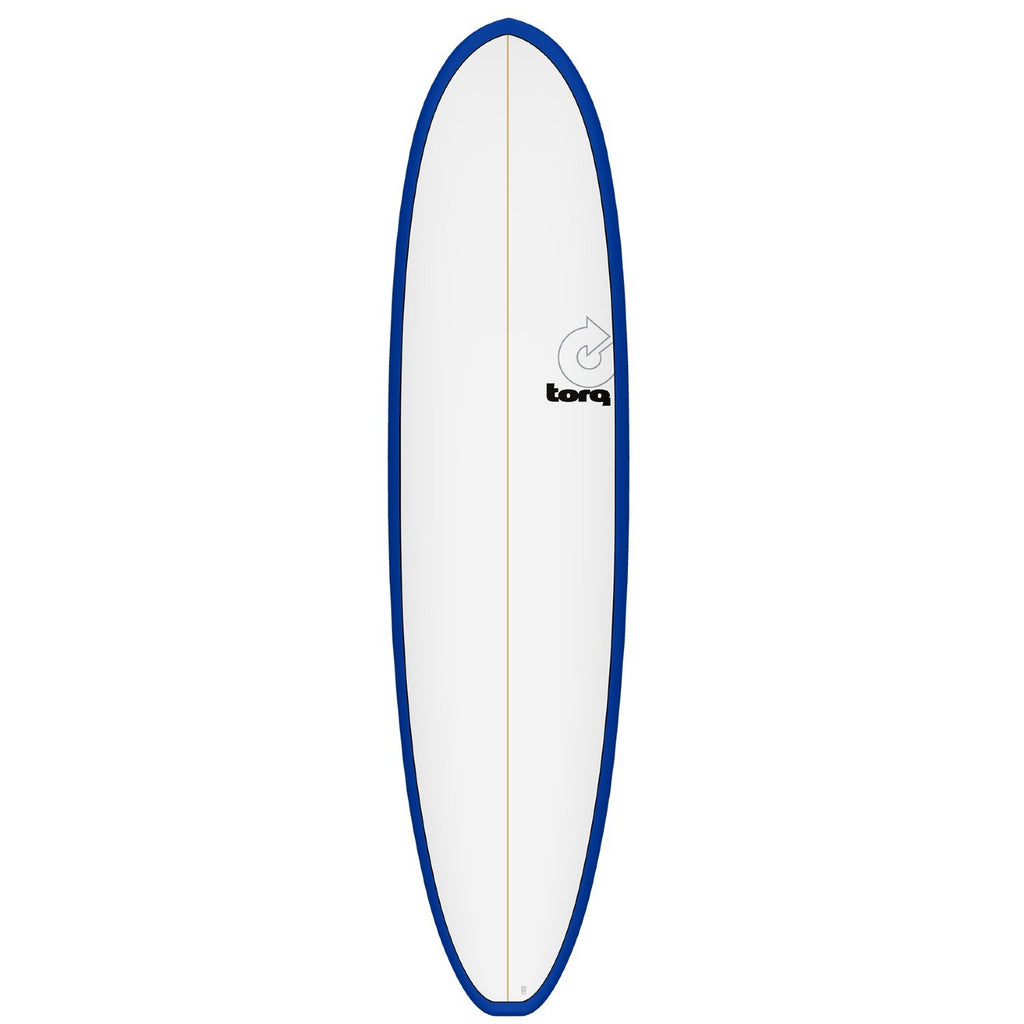 Torq Mod Fun V+ 7'8 Surfboards Torq Navy Blue + Pinline