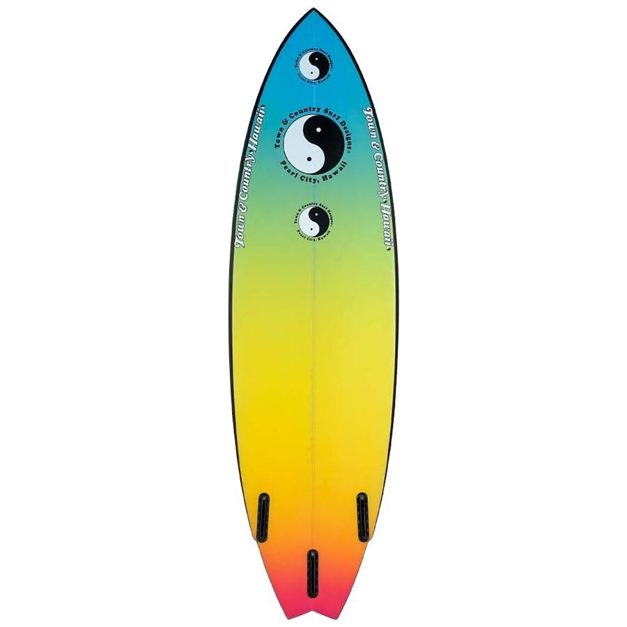 Town & Country Twin Byrner Surfboards Town & Country