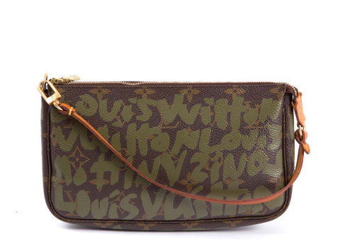 Pochette Monogram Canvas Graffiti