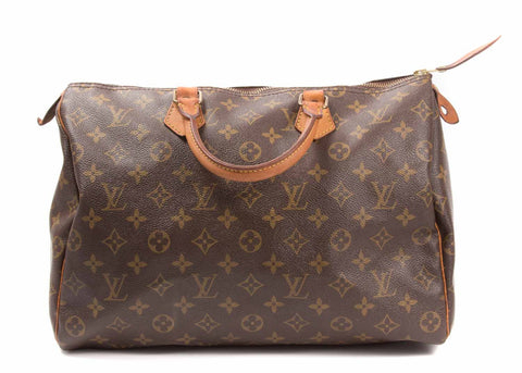 Speedy Monogram Canvas 35