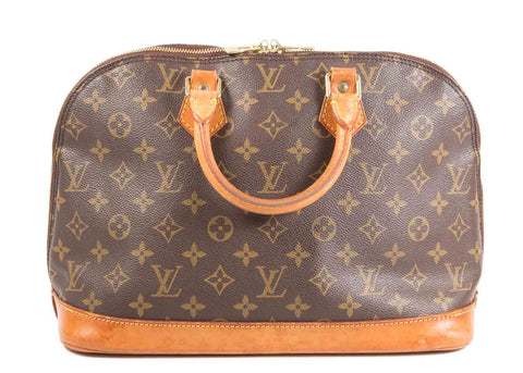 Alma Monogram Canvas PM