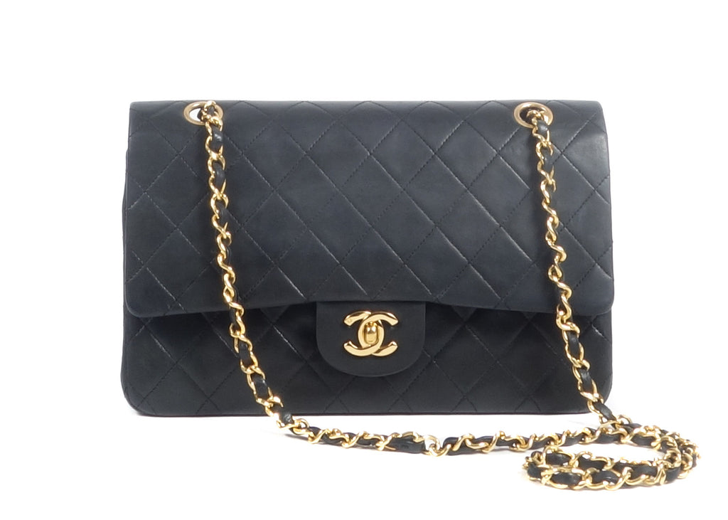 Classic Double Flap Bag Medium Schwarz