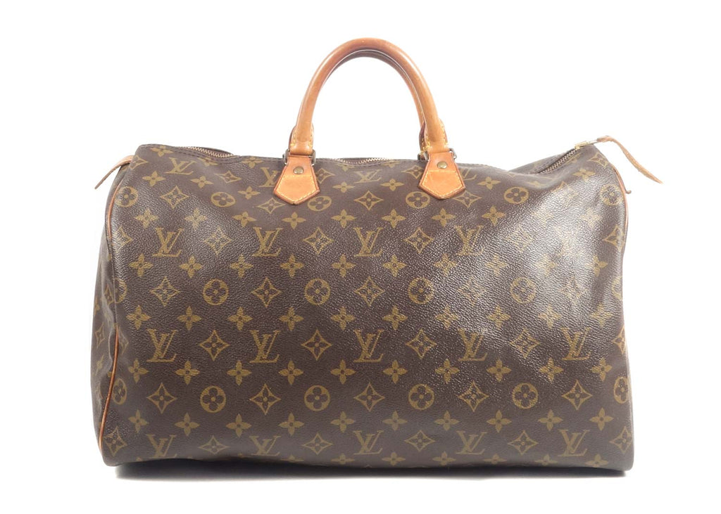 Speedy Monogram Canvas 40