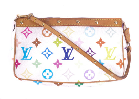 Pochette Multicolor Monogram Canvas