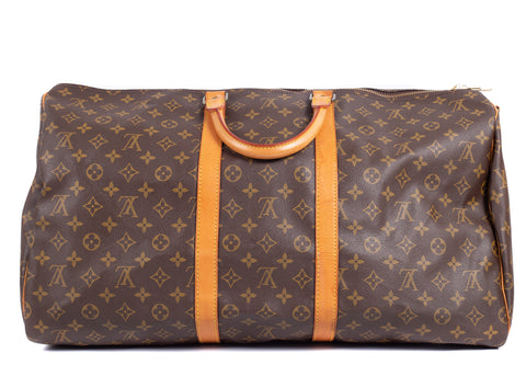 Keepall Monogram Canvas 55 Bandouliere