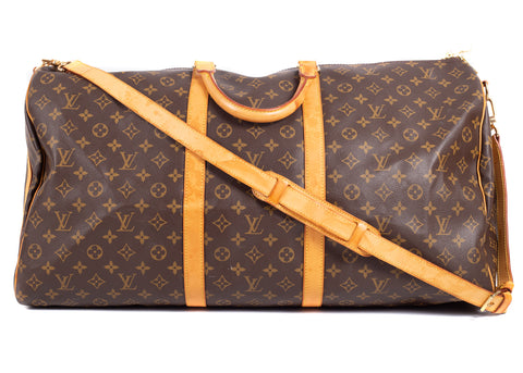 Keepall Monogram Canvas 60 Bandouliere
