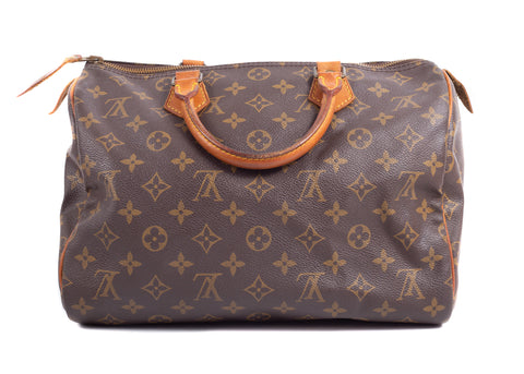 Speedy Monogram Canvas 30