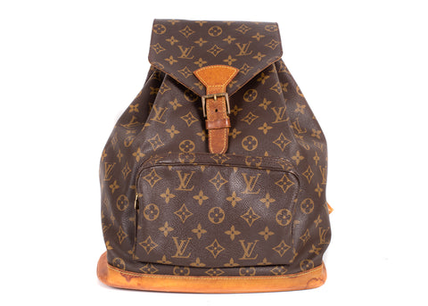 Montsouris Monogram Canvas GM