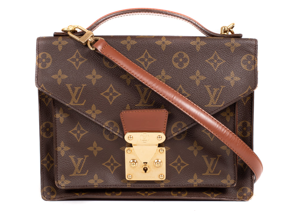Monceau Monogram Canvas