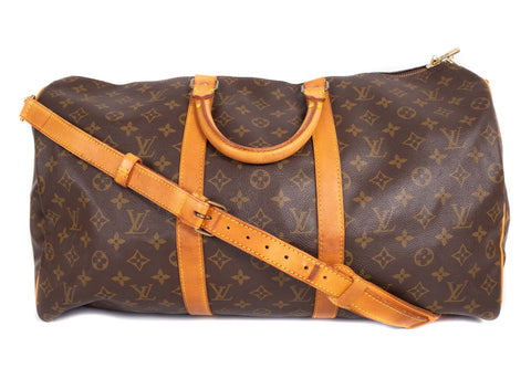 Keepall Monogram Canvas 50 Bandouliere