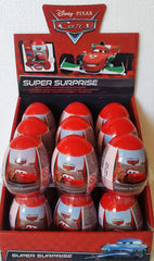 1 Display of The Cars Movie Super Surprise Eggs