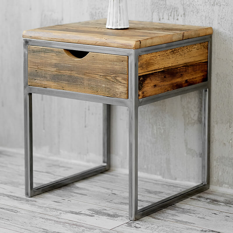 Bedside Table Naive Wood Factory