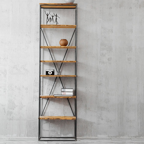 industrial shelving unit reclaimed wood shelf barn wood shelving unit