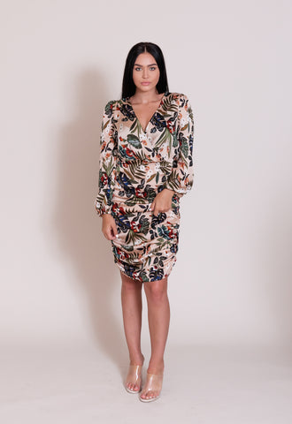 Lilian Leaf Dress