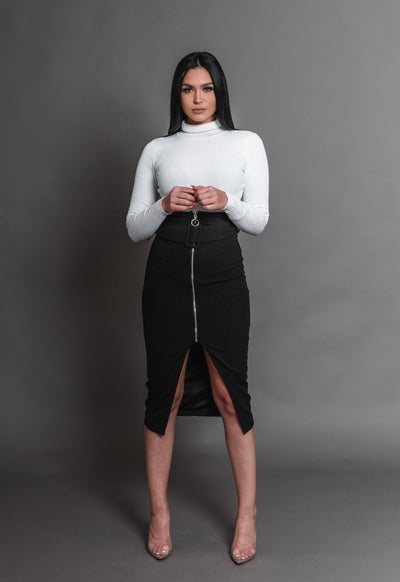GIA LONG BELT SKIRT
