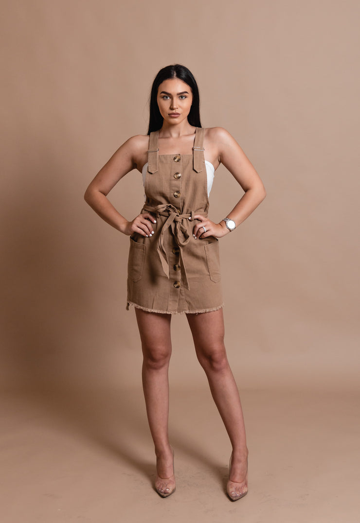 JULIE DENIM OVERALL