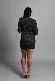 CAMIE TWEED DRESS