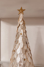 Gold Shell Star Christmas Tree