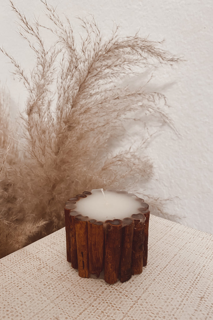 Cinnamon Stick Candles - Small + Big