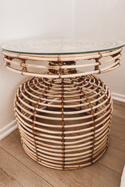 Woven Side Table