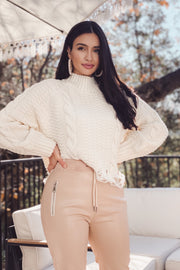 Ally Knit Sweater - Ivory