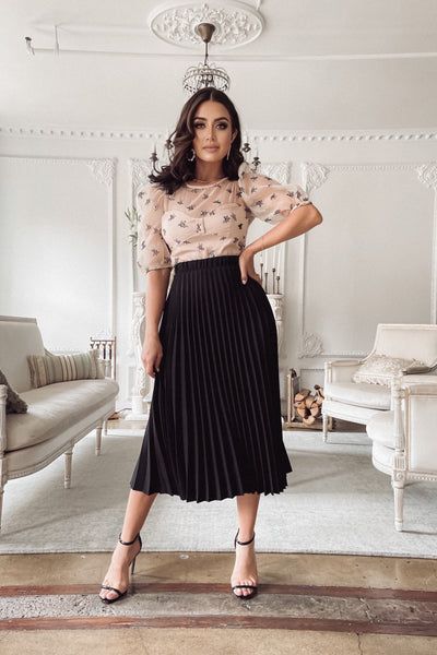 Darcy Pleated Skirt