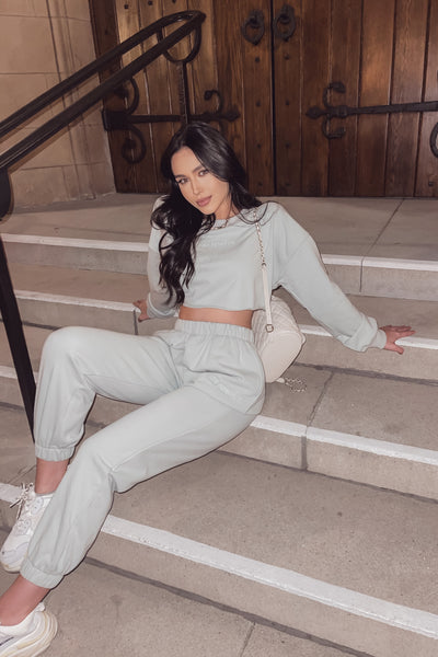 Mint Los Angeles Jogger Set