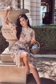 Lauren Floral Ruffle Dress