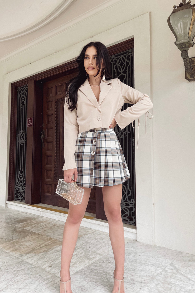 Amalia Plaid Skirt