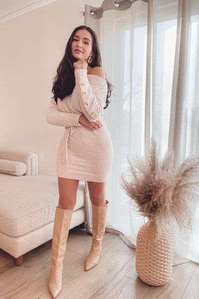 Vicki Cozy Sweater Dress