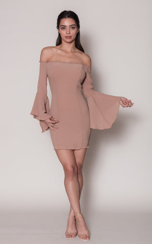 Cloudia Bell Sleeve Dress