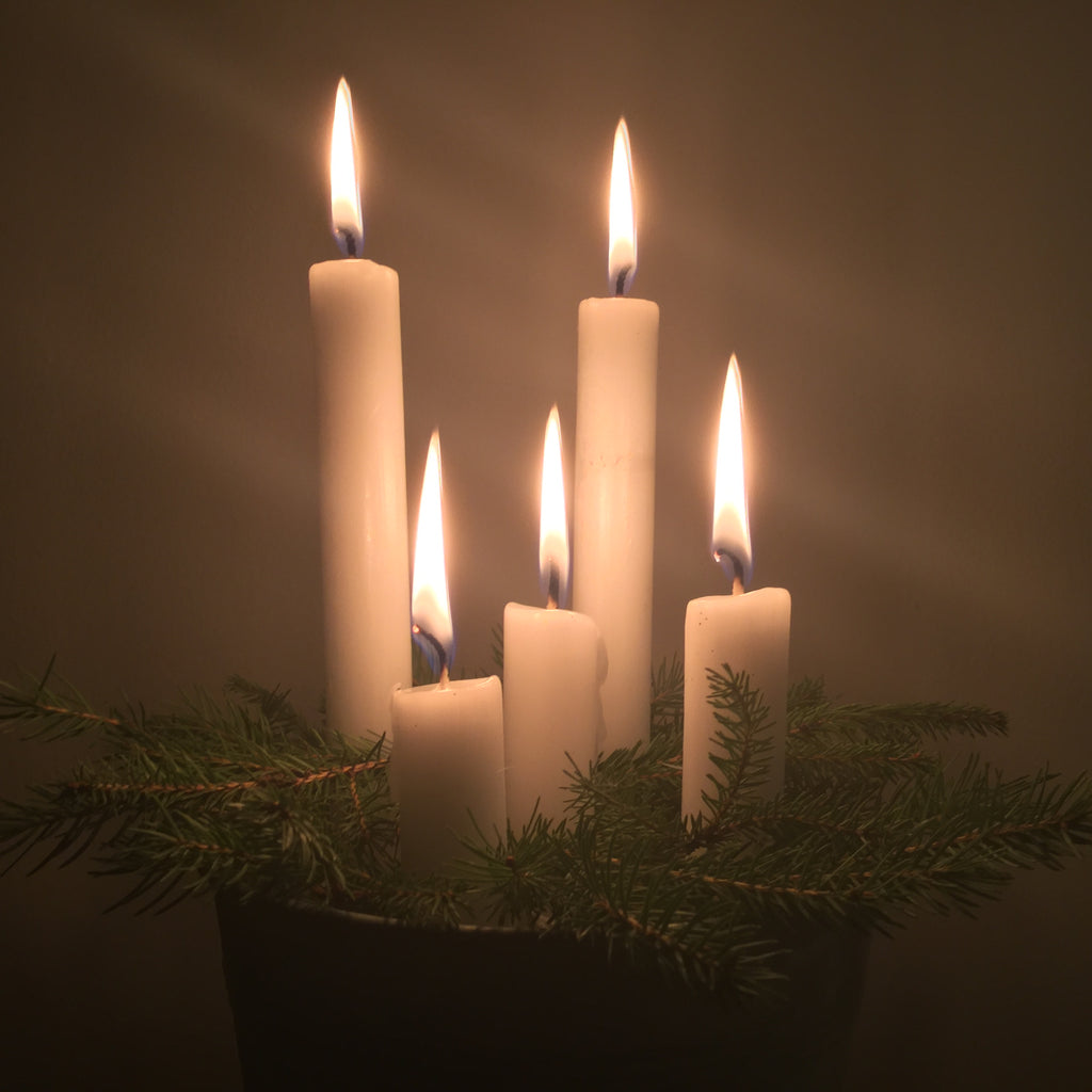 Christmas Candle Decorations